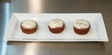 022 Healthy Carrot Cake Muffins with Cream Cheese Glaze