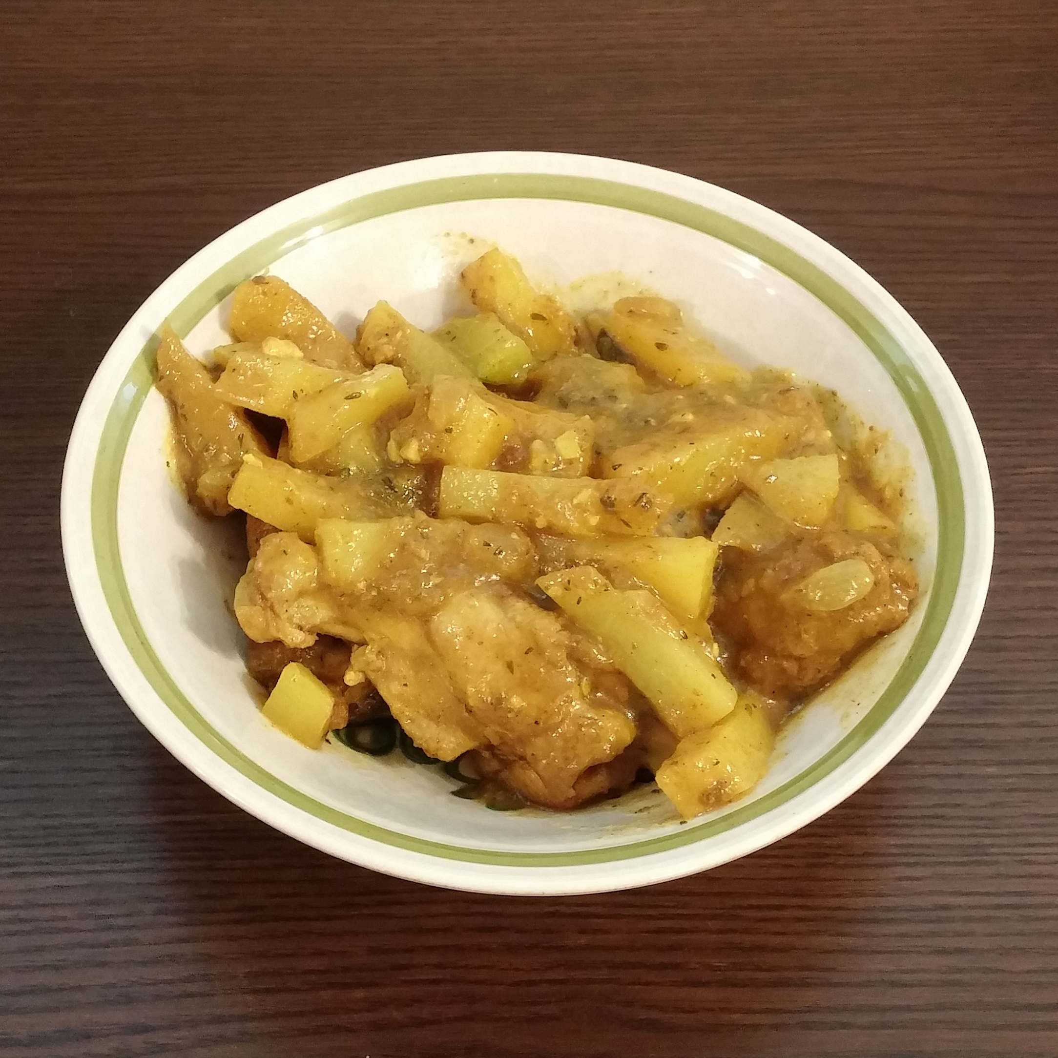 20171021 Jamaican Curry Chicken
